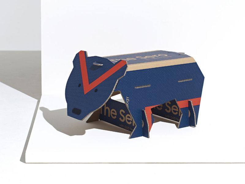 Endangered Animals, el packaging ecológico de Willemart y Muller