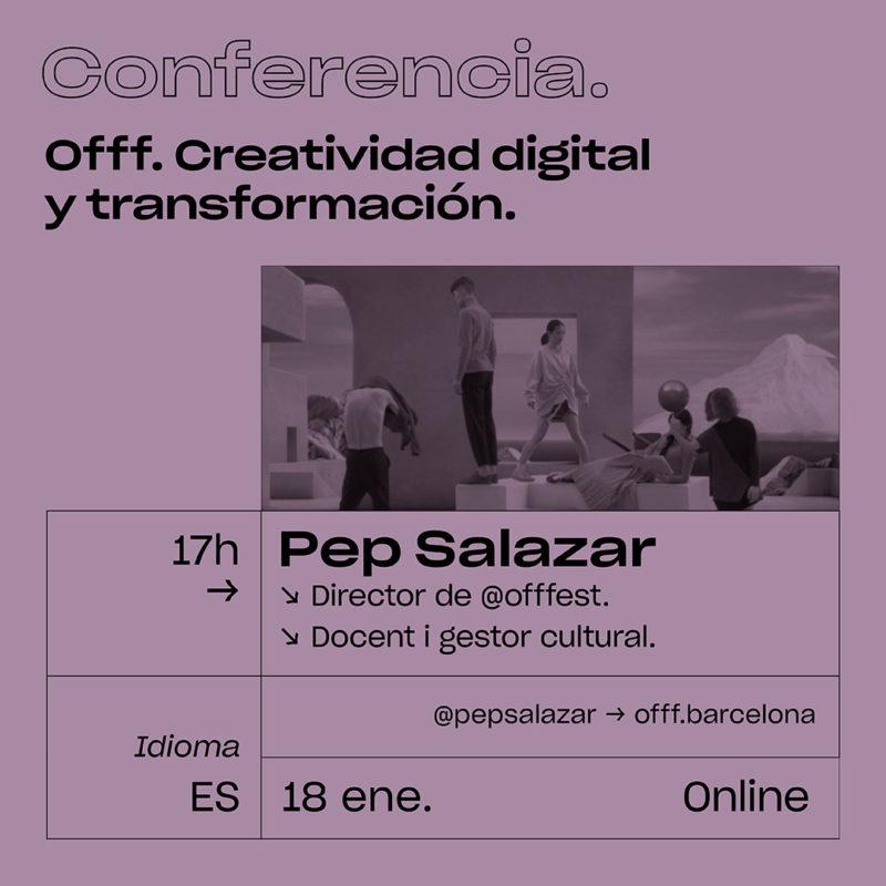 ESDi presenta Offf. Creatividad Digital y Transformación. Conferencia online gratuita