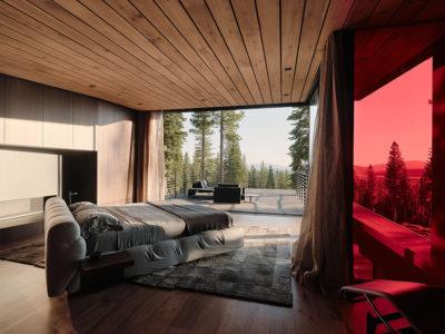 Lookout House: la casa volcánica de Faulkner Architects