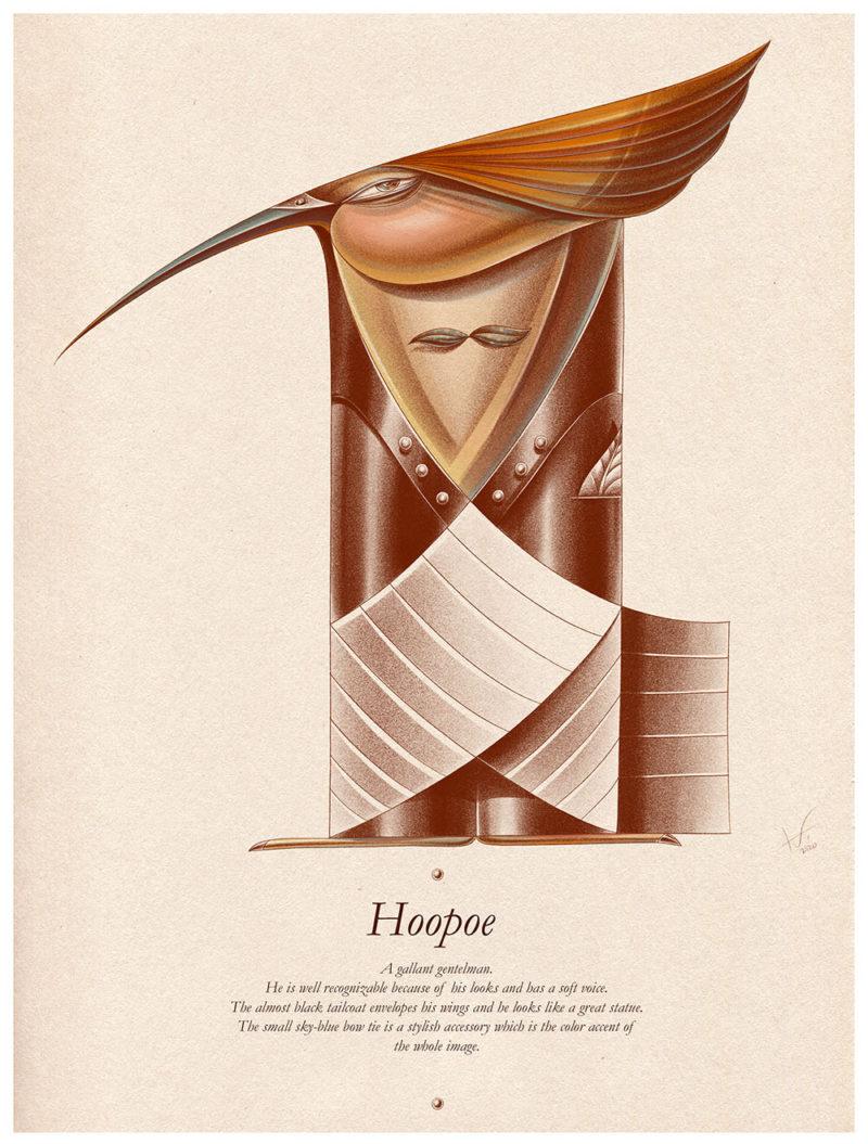 The Elegant Forest, las ilustraciones de Laimutė Varkalaitė