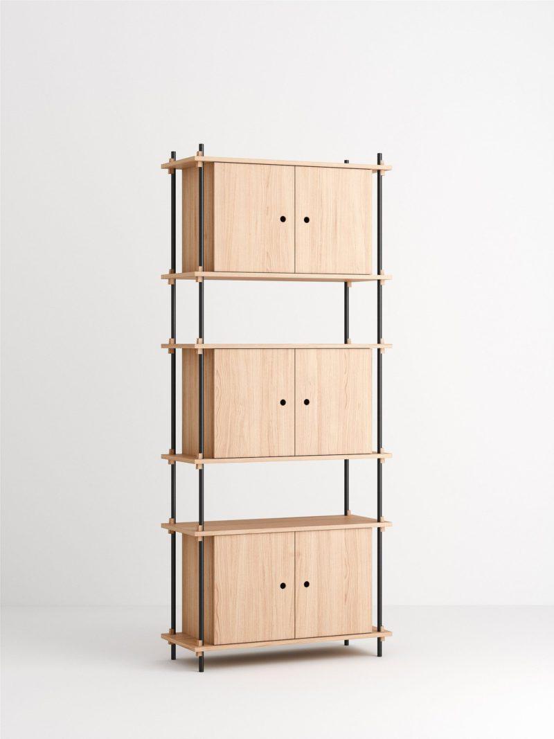 Shelving System, la elegante unidad de almacenamiento de Moebe