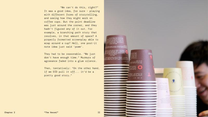 Story, el branding con historia de For The People. Un subidón de creatividad y cafeína