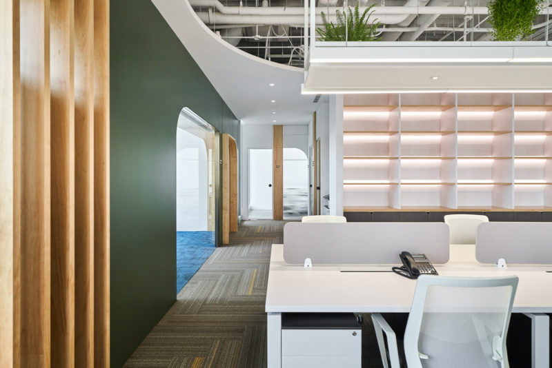 Wu diseña las oficinas de Amber Hill Group en Taipéi