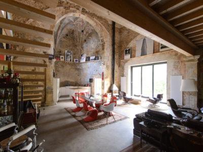 Garmendia Cordero y el reto de convertir un espacio de culto en un hogar