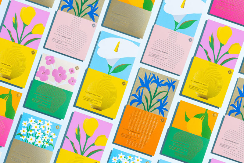 Joy of Floral, la papelera floral de WMW. Ilustración y packaging desde Honk Kong Un muestrario de papeles distinto WMW, el estudio dirigido por el diseñador gráfico Chhavi Cheng, es el responsable de un elegante protector gráfico en el que