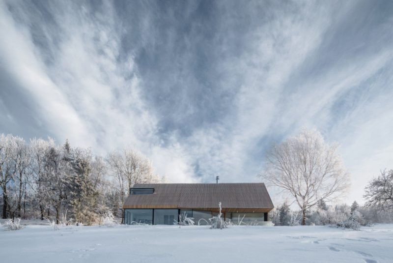 La casa en Montañas de los Gigantes de Fránek
