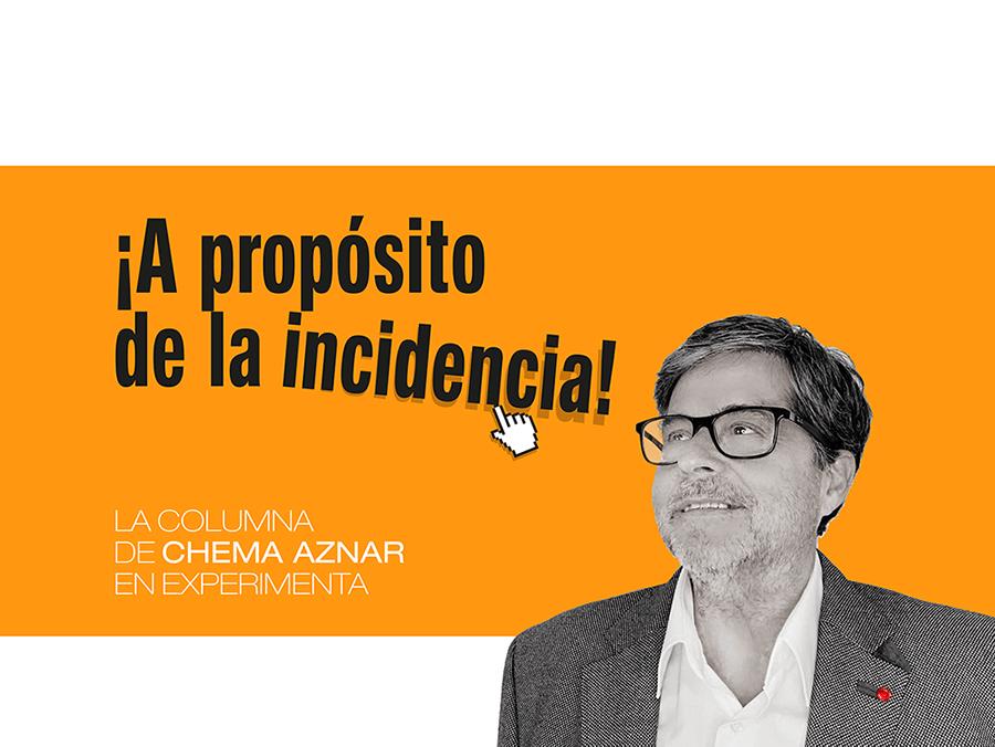 La columna de Chema Aznar: Actitud, acción, experiencia, Historia