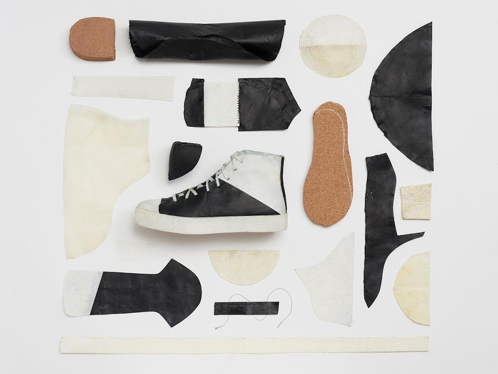 Las zapatillas de té y azúcar de Chow, Osborne y Schiros. 100% compostables, 100% disruptoras