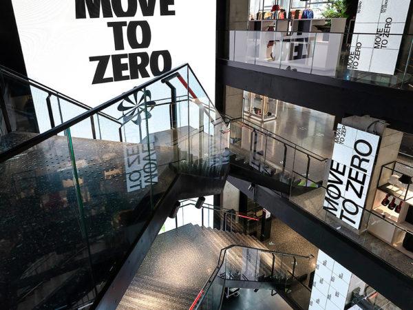 Move to Zero, identidad visual de Accept & Proceed para Nike