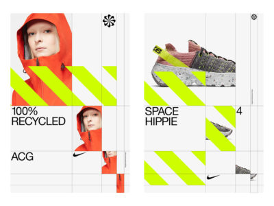 Move to Zero, identidad visual de Accept & Proceed para Nike