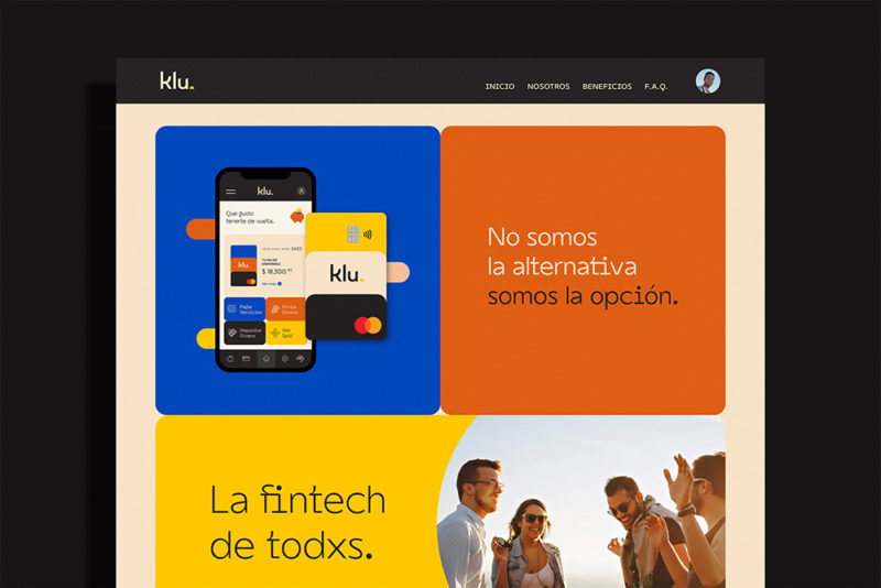 The Branding People y la refrescante identidad de Klu