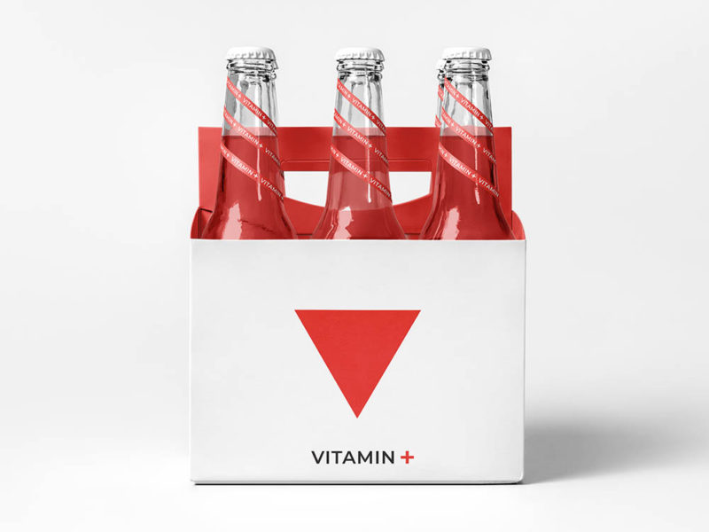Vitamin +, identidad y packaging de Aleksandra Iakimchuk