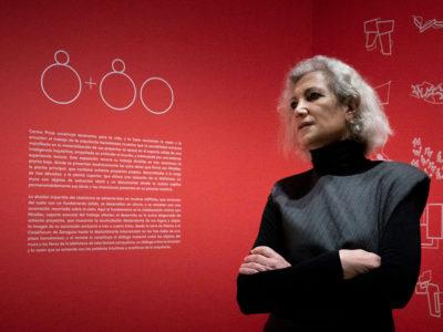 Carme Pinós en el Museo ICO de Madrid