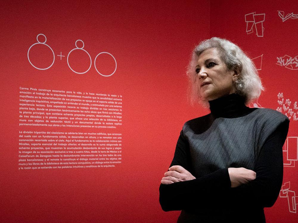 Carme Pinós, gran retrospectiva en el Museo ICO de Madrid