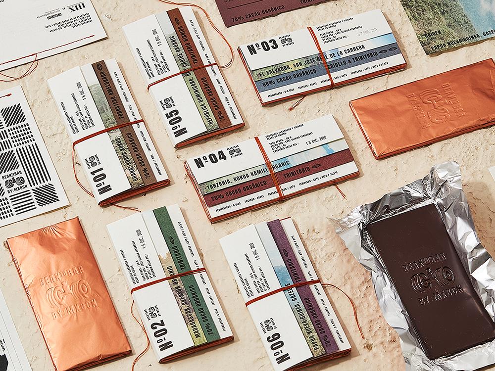 El packaging para chocolate artesanal de Zoo. Una propuesta bean to bar