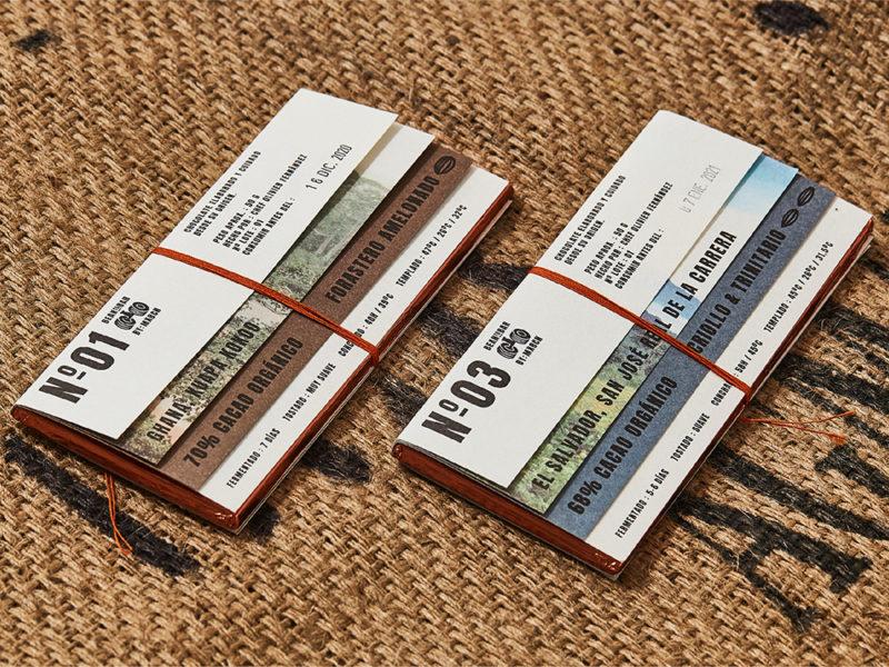 El packaging para chocolate artesanal de Zoo