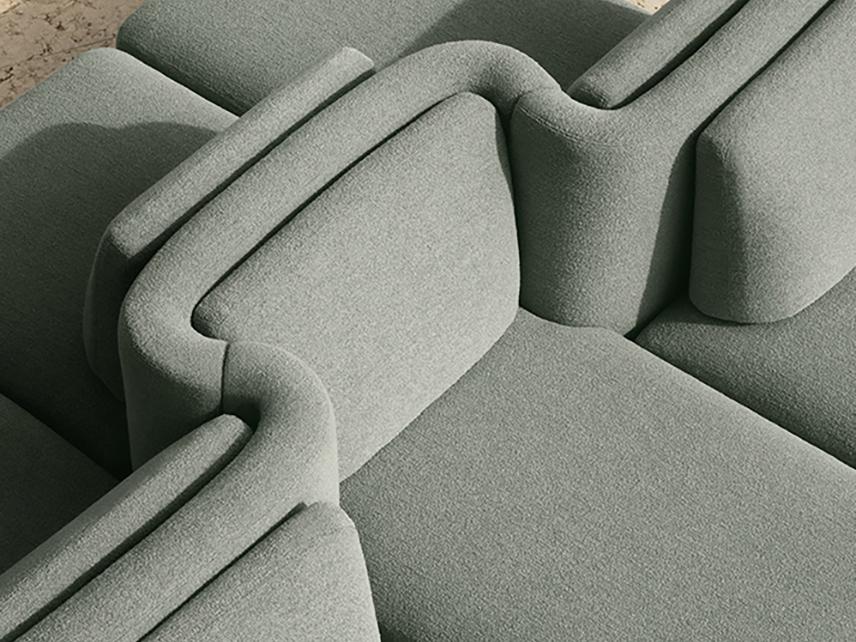 Gala: el sistema de sofás bidireccional de Cristina Celestino