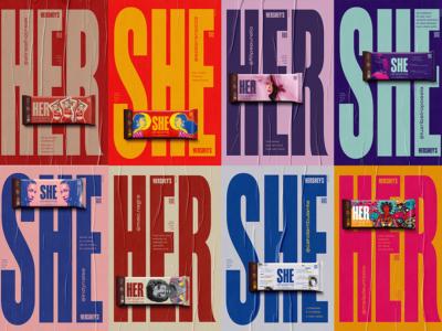 Hershe, la campaña de Betc para Hershey's en el Día Internacional de la Mujer