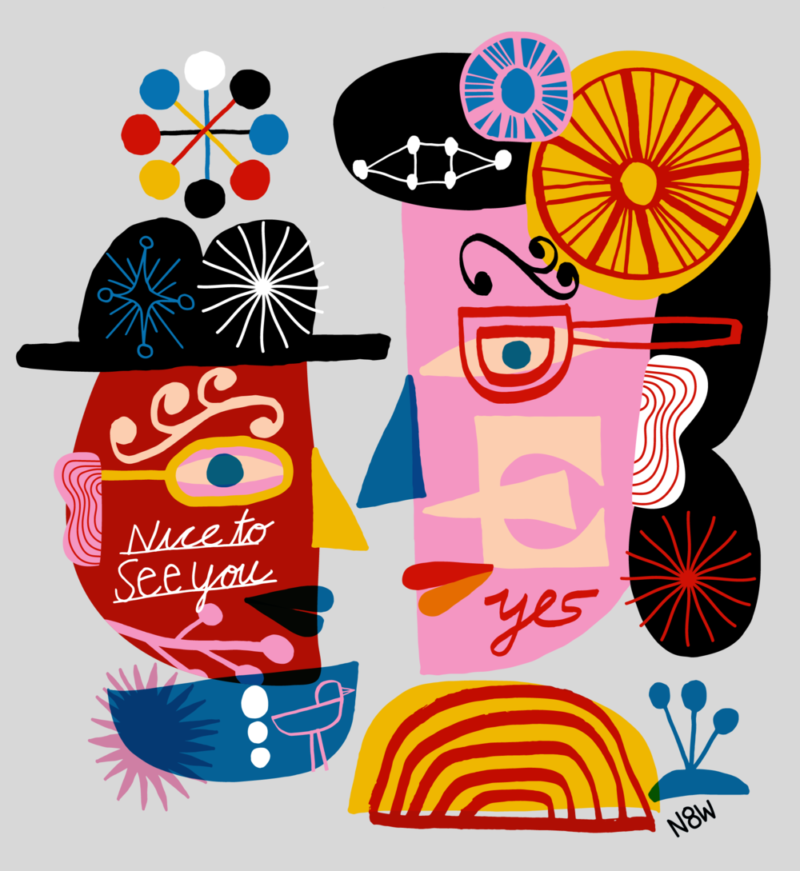 La refrescante abstracción de Nate Williams. Entre Argentina y Estados Unidos