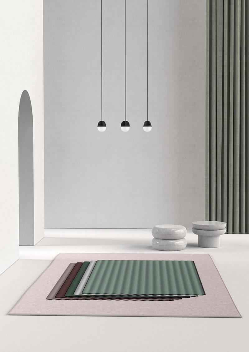 Las colecciones de alfombras geométricas de Alain Gilles