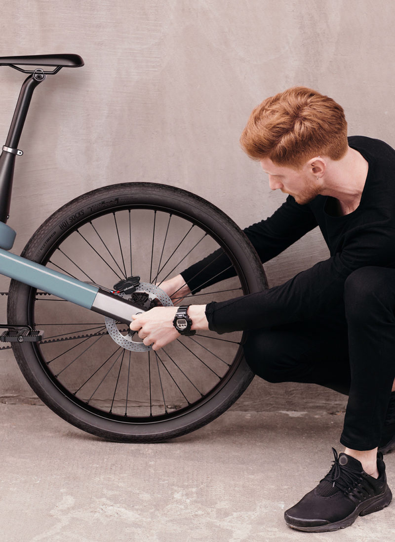 Loop, la bicicleta esencial de Gaëtan Francq