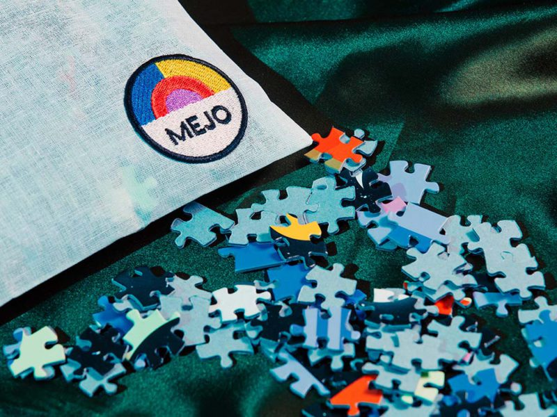 Mejo, los puzzles de diseño de Creta. Rompecabezas con acento italiano