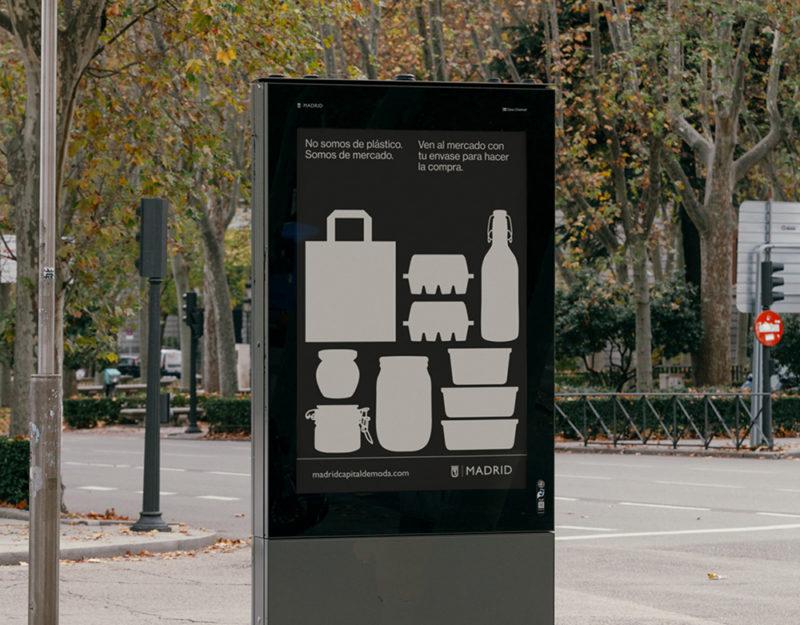 Reducir, reutilizar, reciclar: Atipus y Madrid contra el plástico de un solo uso. © Félix Ruiz