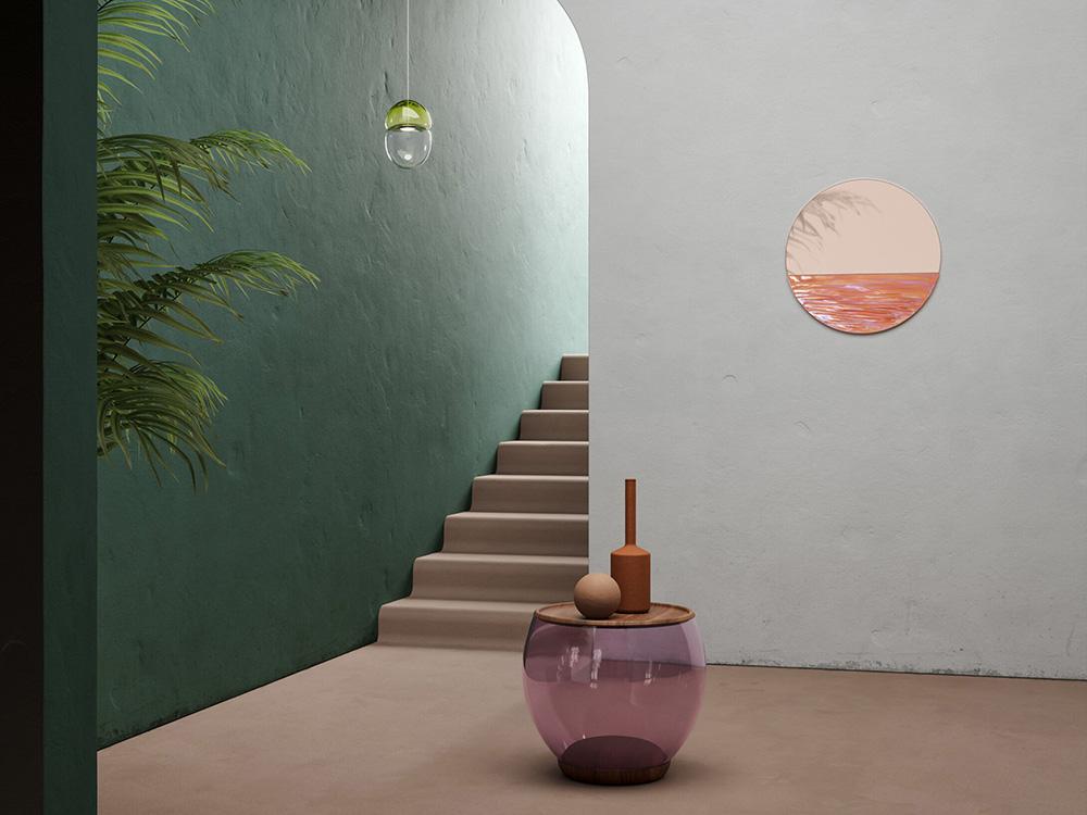 Ocrum y el vidrio como forma de vida. Tres proyectos para entender un estilo