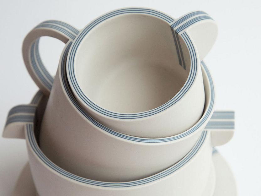 Plycelain, la cerámica contrachapada de Yuting Chang