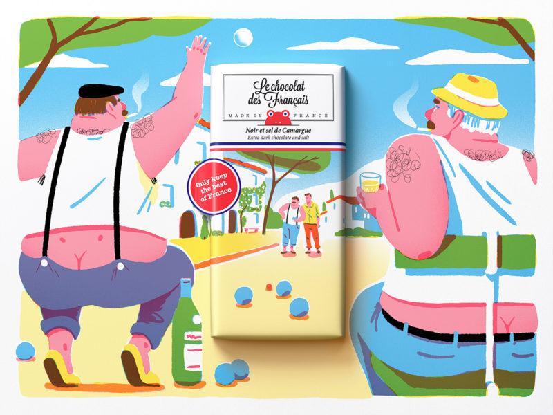 TBWA y lo mejor de Francia. Packaging, ilustración y mucho chocolate