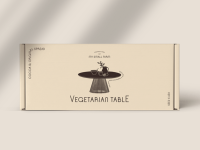 Vegetarian Table, packaging, ilustración y mucha semillas en el proyecto de More Than That