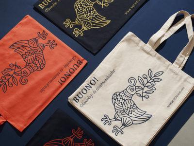 Aliz Borsa desarrolla la identidad de Buono! Un branding al dente
