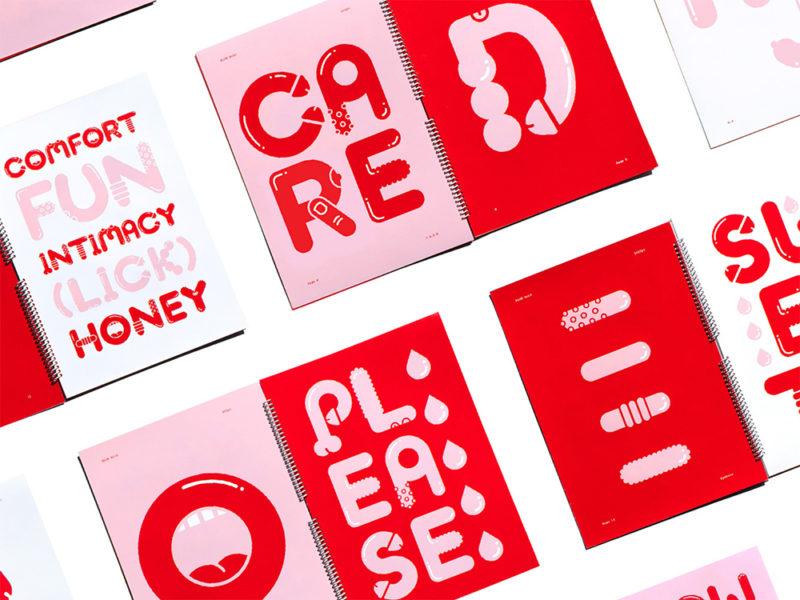 Cinco packaging de condones. Potentes, inspiradores, necesarios