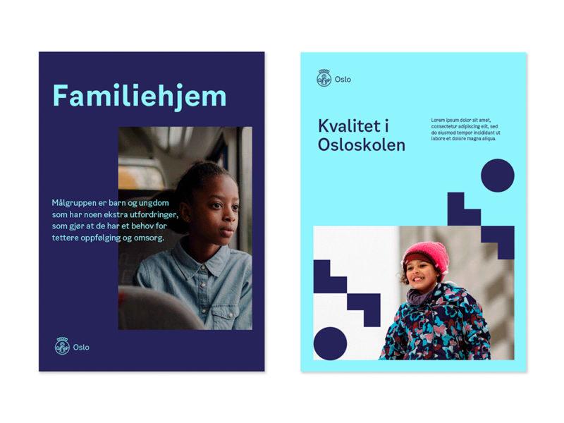 Creuna actualiza la identidad visual de Oslo. Una imagen universal, atractiva y eficiente