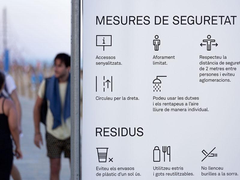 Familia y el sistema gráfico para la nueva normalidad barcelonesa