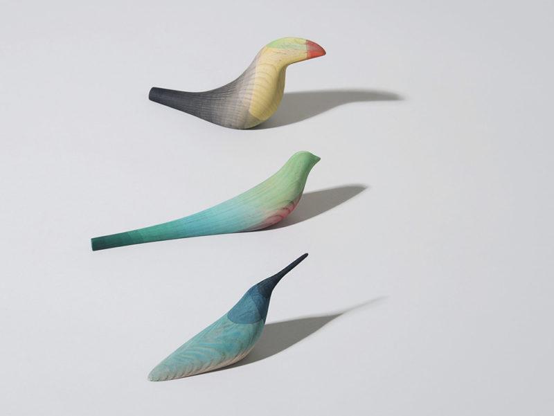 Immersed Birds, las aves de Moisés Hernández
