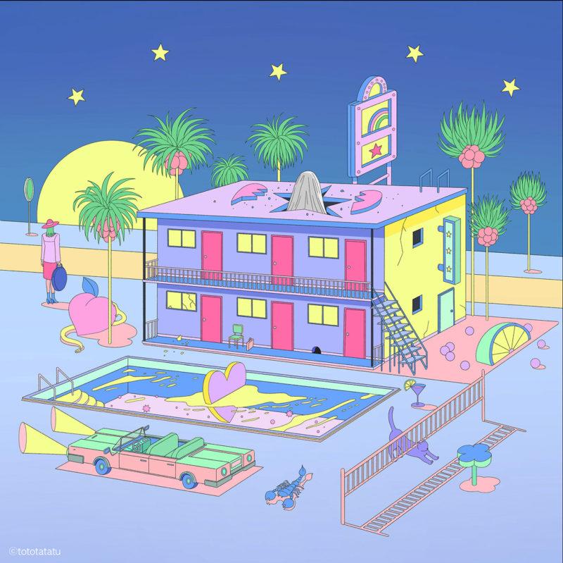 La abstracción k-pop de Seo Young Kwon. Mucho más que una ilustradora