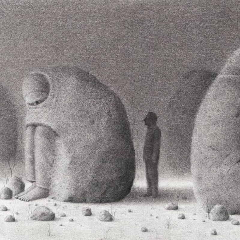 La granulada nostalgia de David Álvarez. De Oaxaca al mundo entero