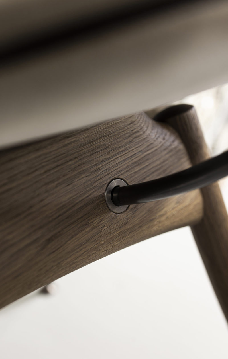 La silla circular de Overgaard & Dyrman. Impronta y elegancia nórdica