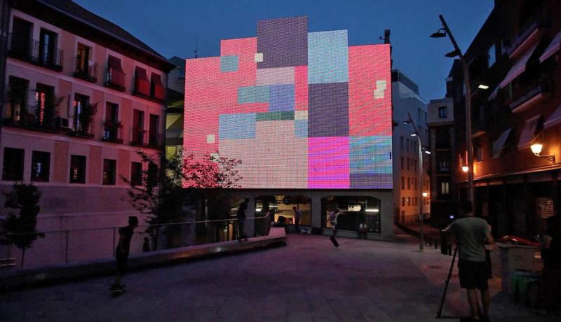 Llega la edición 2021 del MMMAD, el Festival Urbano de Arte Digital de Madrid
