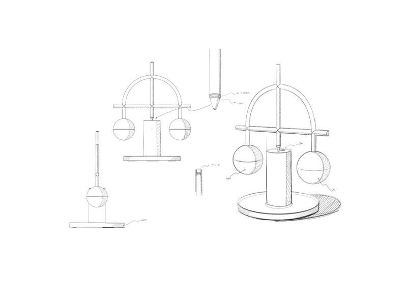 Lybra Balance, la luminaria funambulista de Zanwen Li