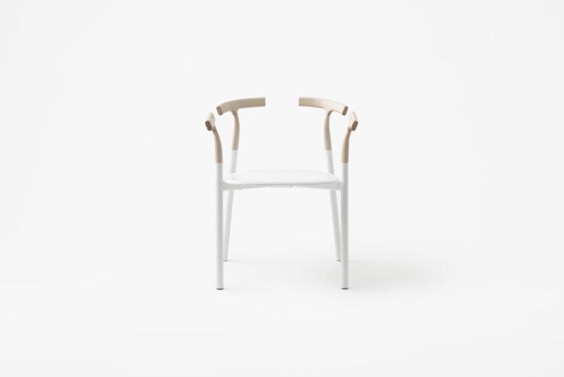 Twig, la silla incompleta de Nendo. Minimalismo nipón