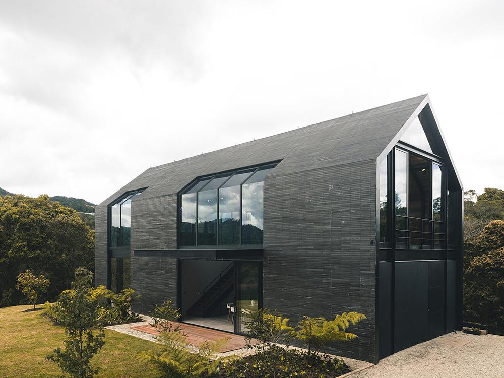 Casa Olivera, el pabellón/refugio de A5. Buen diseño colombiano