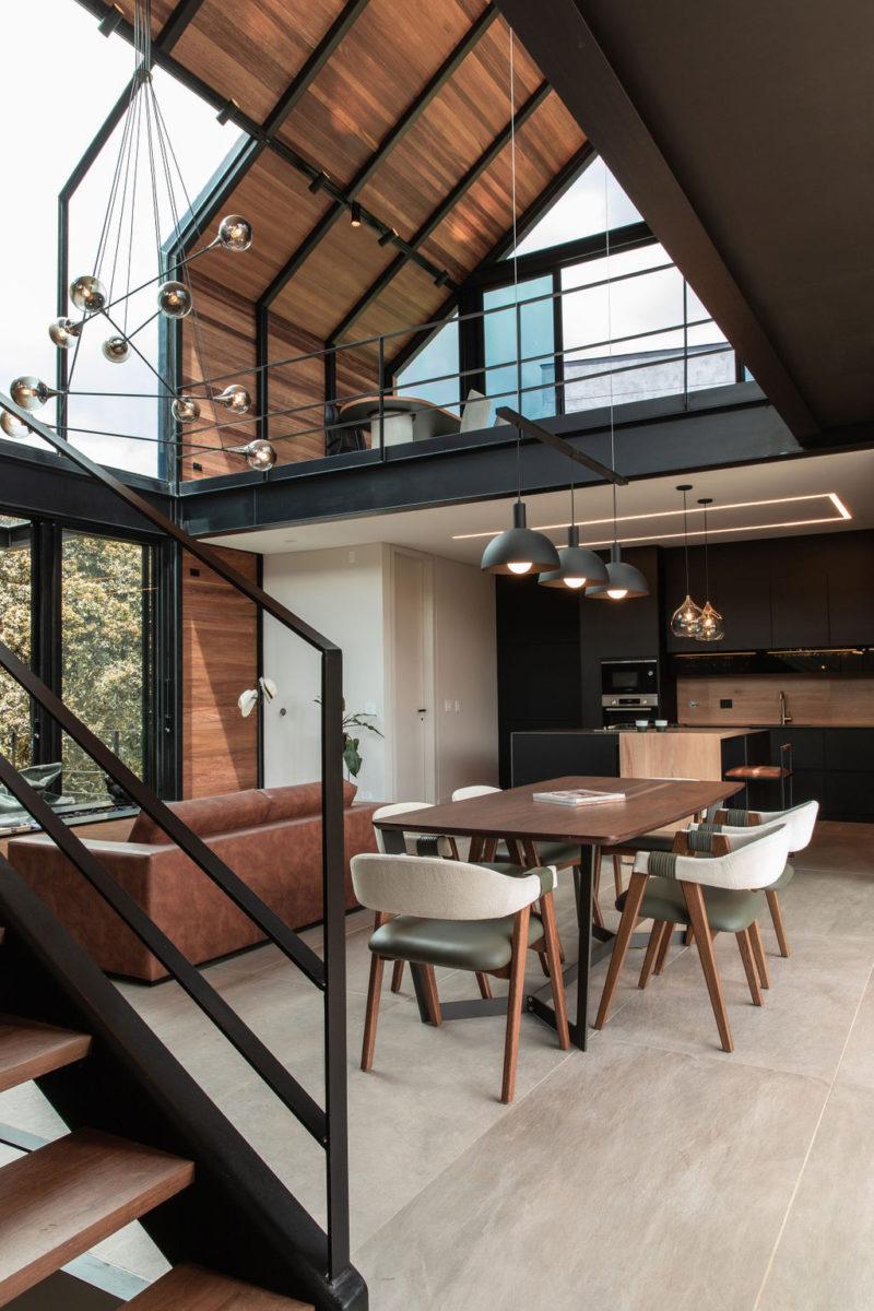 Casa Olivera, el pabellón/refugio de A5. © Felipe Valdes / Mateo Soto
