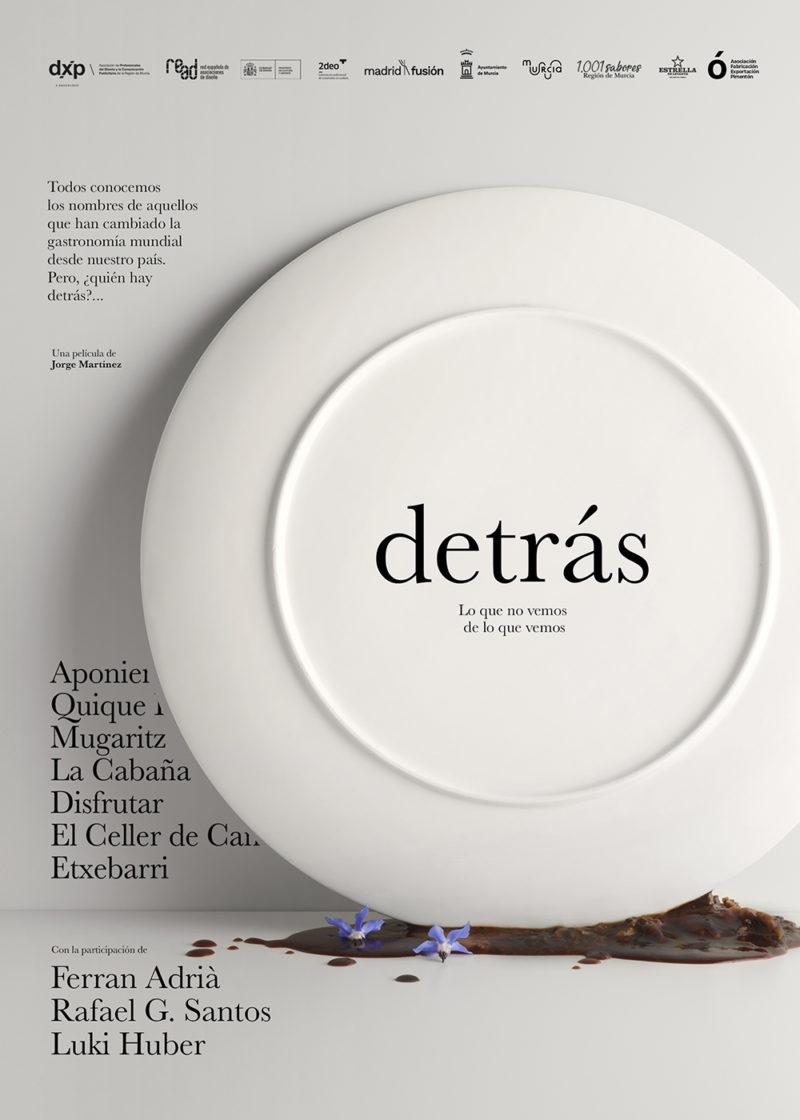 Deträs. Lo que no vemos de lo que vemos: food design de cine en Madrid Fusión 2021