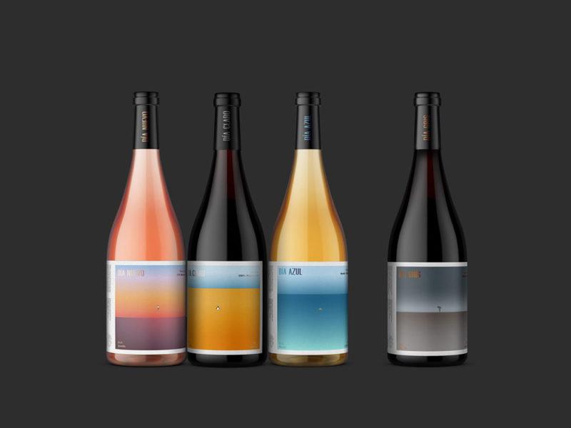 Día, los vinos ilustrados de Rubio & del Amo para Bodegas Olivares