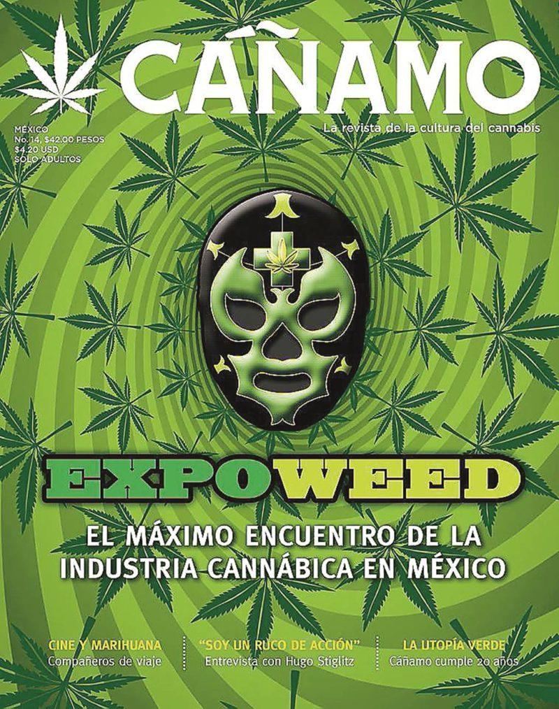 Revista Cañamo (2017) / Portada