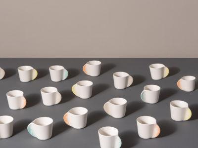 Morphose, la delicada vajilla cerámica de Constance Guisset