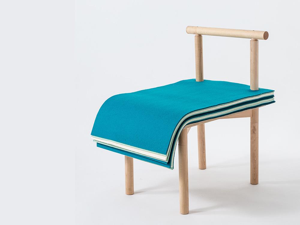 Pages, la silla de Noriko Hashida para pasar página