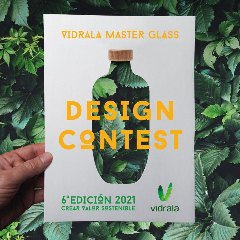 Vidrala Master Glass Design Contest 2021. El concurso de diseño de envases de vidrio de Vidrala